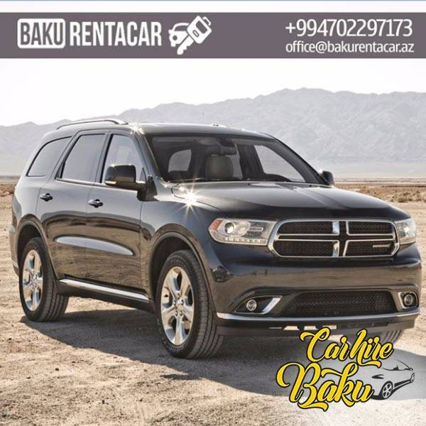 Dodge Durango | Rent Car Baku, Car Hire Baku