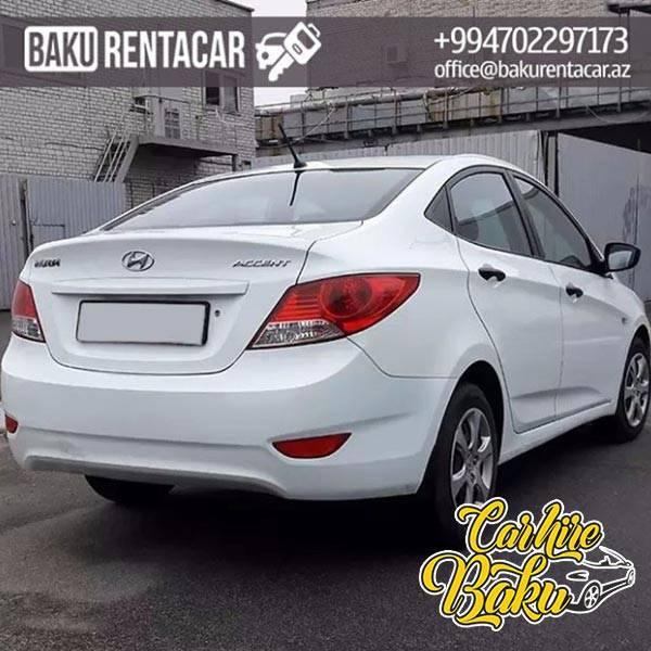 Hyundai Accent | Rent Car Baku, Car Hire Baku