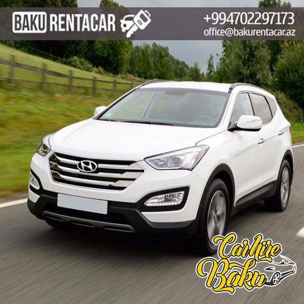 Hyundai SantaFe | Rent Car Baku, Car Hire Baku