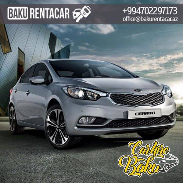 Kia Cerato | Rent Car Baku, Car Hire Baku