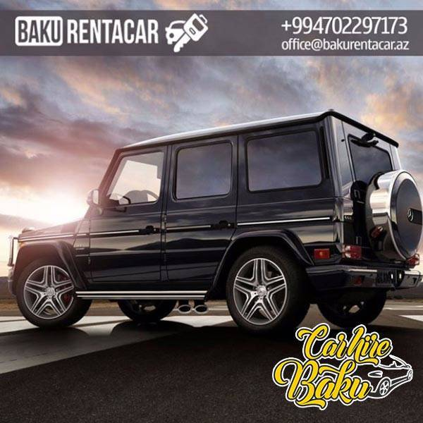 Mercedes Benz G Class | Rent Car Baku, Car Hire Baku