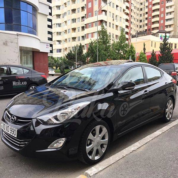 Hyundai Elantra | Аренда автомобилей эконом класса в Баку, Азербайджане