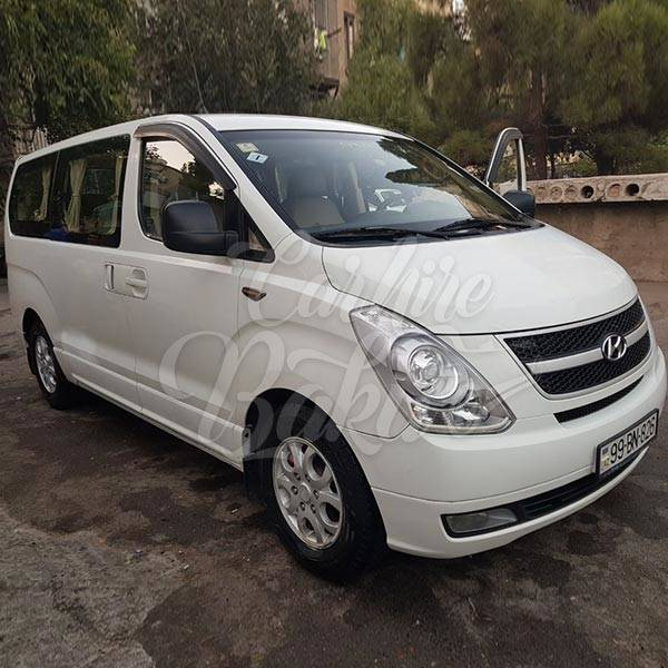 HyundaiH1 white | Rent car Baku, Car Hire Baku