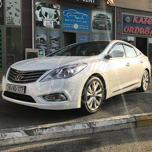 Hyundai Sonata | Car hire services in Baku, Azerbaijan