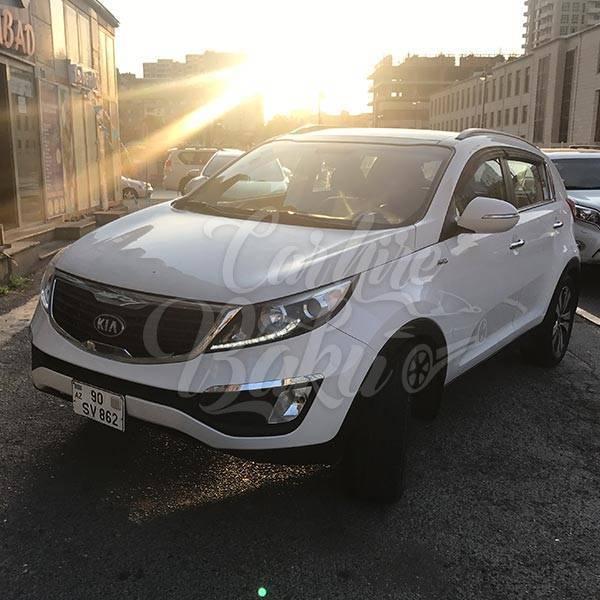 Kia Sportage | SUV Class Rental Cars In Baku, Azerbaijan