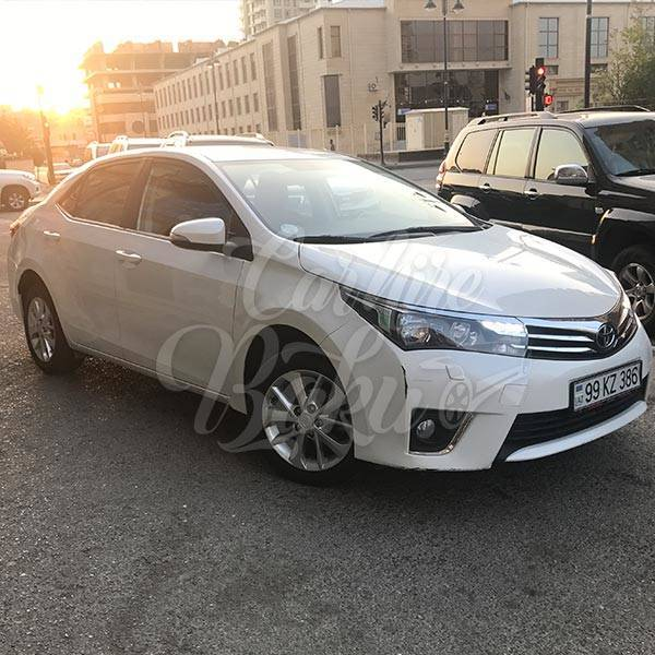 Toyota Corolla | Car hire services in Baku, Azerbaijan