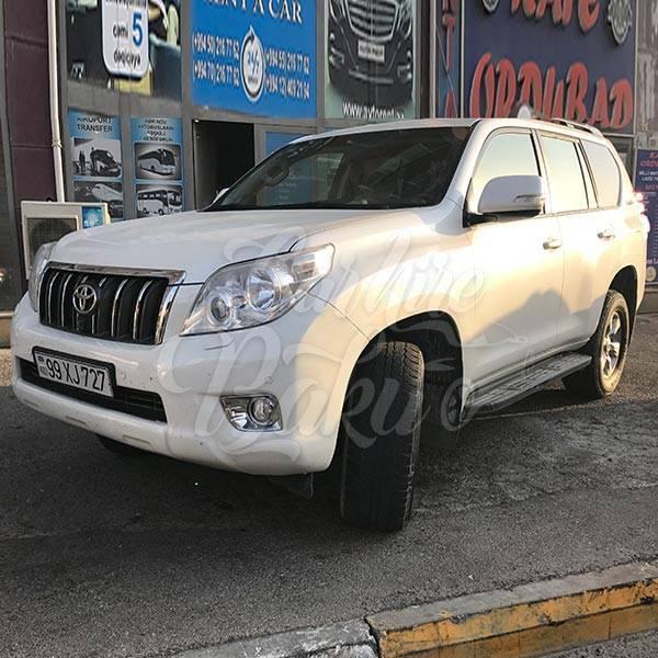 Toyota Prado 150R | Аренда внедорожников в Баку, Азербайджане
