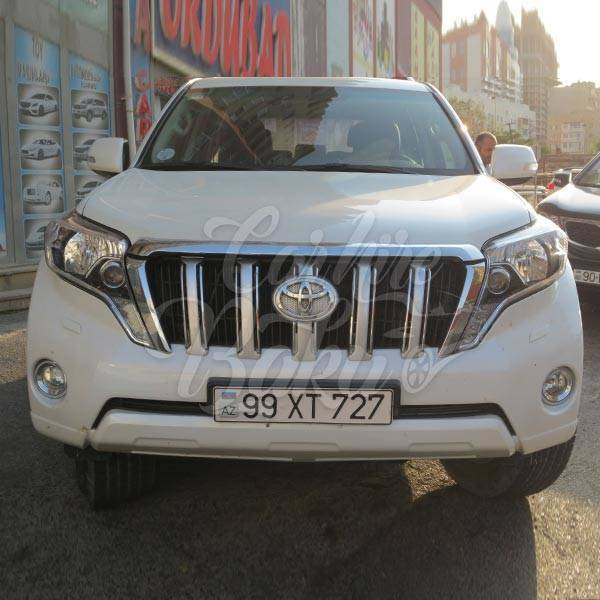 Toyota Prado 150R | Прокат внедорожников в Баку, Азербайджане