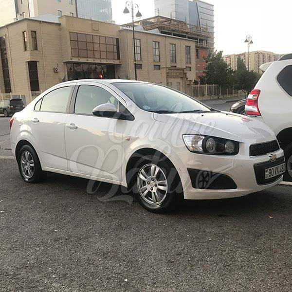 Chevrolet Aveo | Economy class rental cars in Baku, Azerbaijan