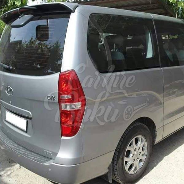 Hyundai H1 silver | Mikroavtobusların icarəsi xidməti