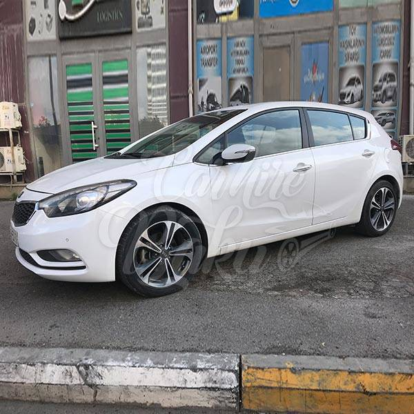 Kia Ceratto | Economy class hatchback for rent in Baku, Azerbaijan
