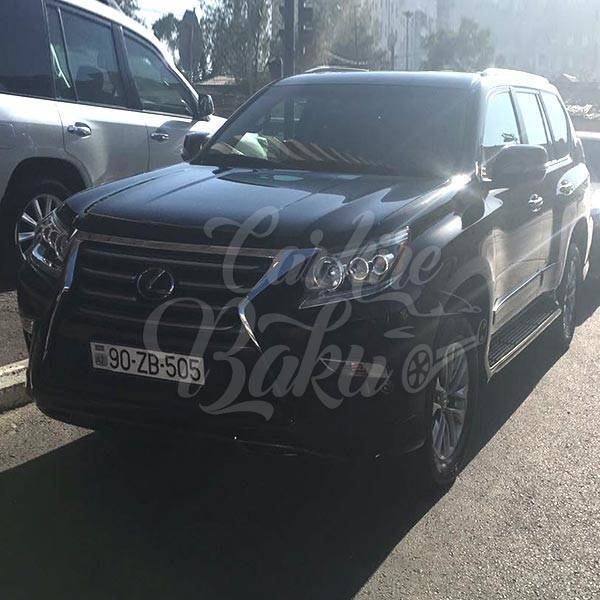Lexus GX460 | SUV class car rental Baku, Azerbaijan