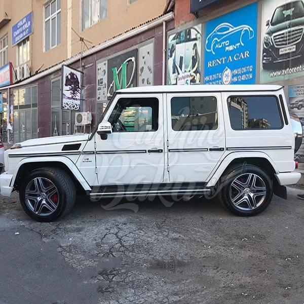 MercedesG63 AMG rent a car Baku / прокат авто в Баку / Arenda masinlar