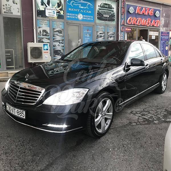 Mercedes S Class W221 | VIP Class Renal Cars In Baku, Azerbaijan