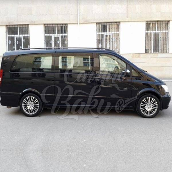 Mercedes Viano | VIP class rental cars in Baku, Azerbaijan