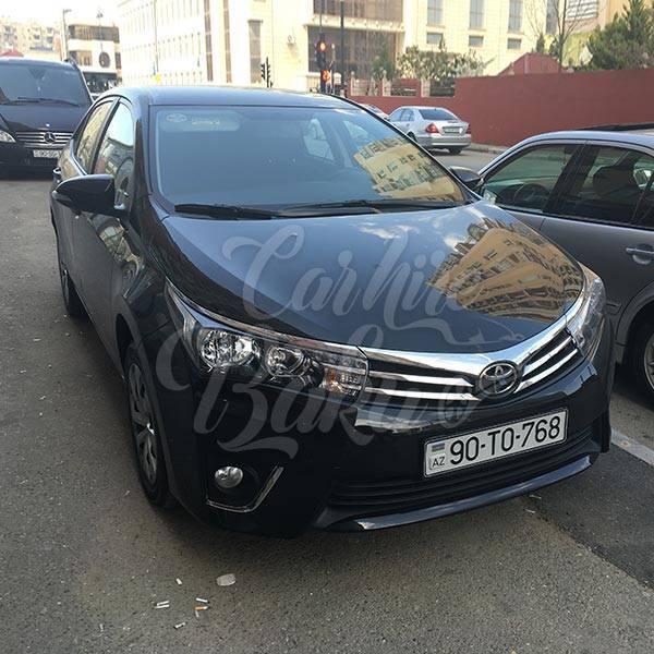 Toyota Corolla | Эконом класс машины на прокат в Азербайджане