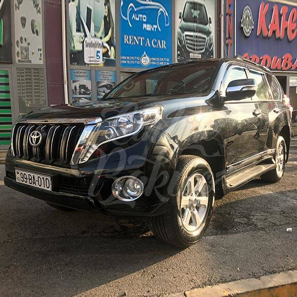 Toyota Prado 150R | SUV rental services in Baku, Azerbaijan