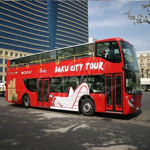 Mercedes Citytour | Rental buses and minibuses in Baku, Azerbaijan