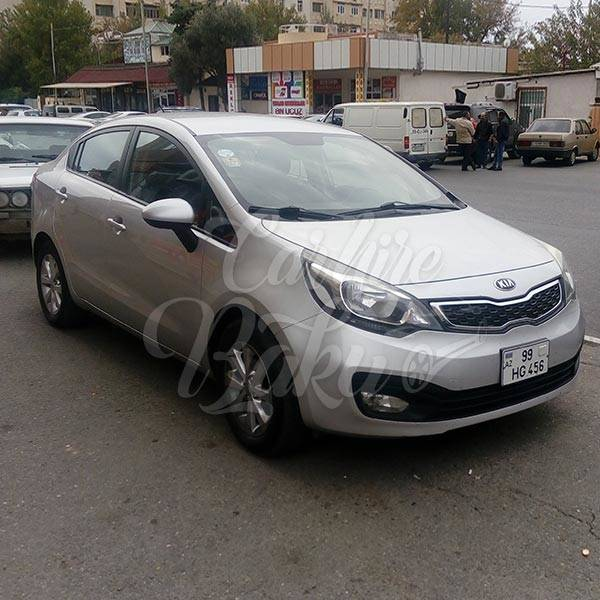 Kia Rio | Economy class hatchback for rent in Baku, Azerbaijan