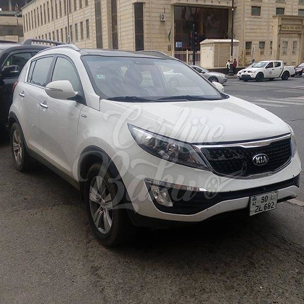 Kia Sportage | SUV class car rental in Baku, Azerbaijan