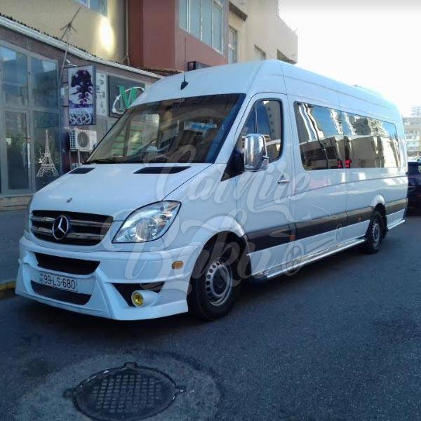 Mercedes Sprinter | Minibuses for rent in Baku, Azerbaijan