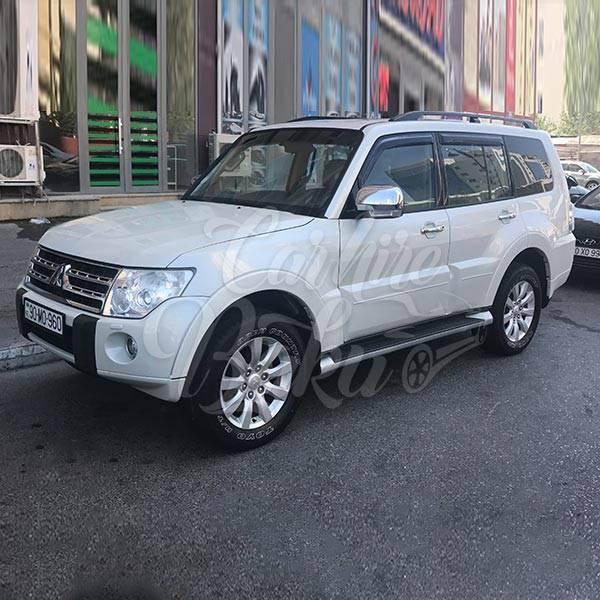 Mitsubishi Pajero | SUV class car rental in Baku, Azerbaijan
