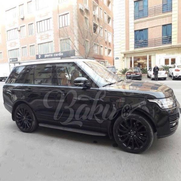Range Rover Sport | VIP class rental cars in Baku, Azerbaijan