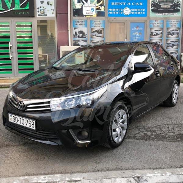 Toyota Corolla | Econom class rental cars in Baku, Azerbaijan