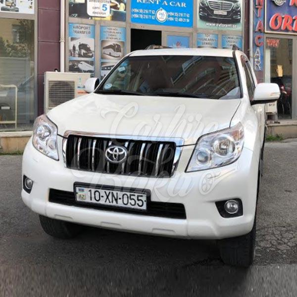 Toyota Prado 150R | Rental cars in Baku, Azerbaijan