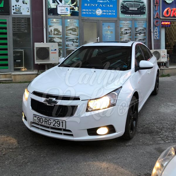 Chevrolet Cruze | Economy class rental cars in Baku
