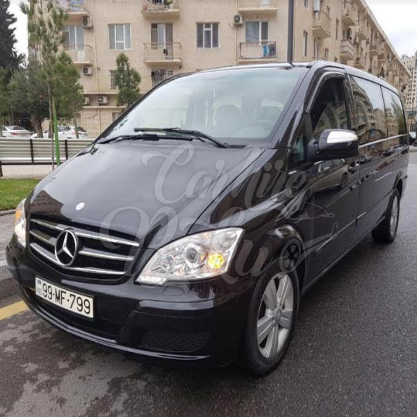 Mercedes Viano | Rental minibuses in Baku