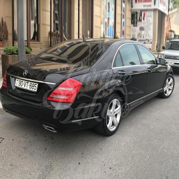 Mercedes Benz S-class W221 | VIP class car hire in Baku