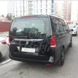 Mercedes V-class | Minibus for rent in Baku, Azerbaijan