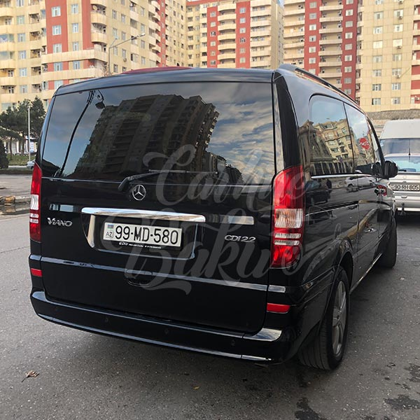 Mercedes Viano | Minibuses for rent in Baku, Azerbaijan
