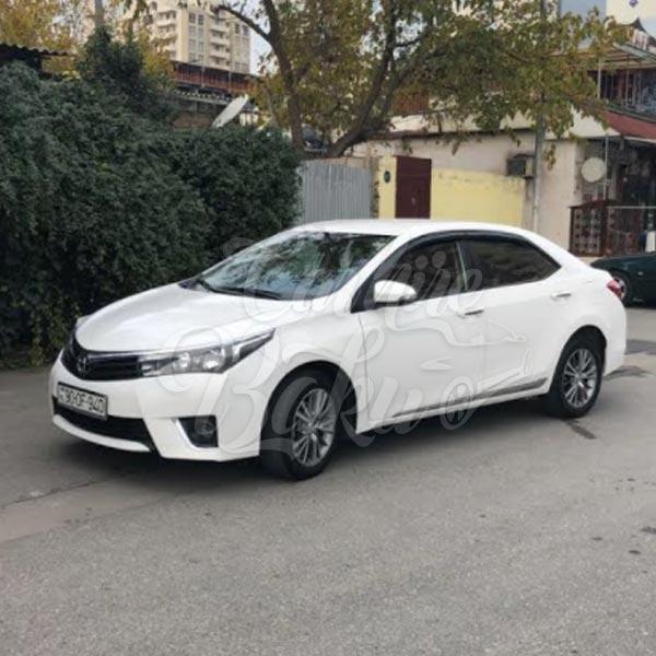 Toyota Corolla | Эконом класс машины на прокат в Баку