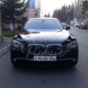BMW 750 | VIP class rental cars in Baku, Azerbaijan