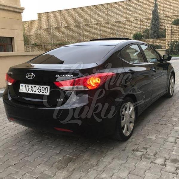Hyundai Elantra | Эконом класс машины на прокат в Баку, Азербайджане