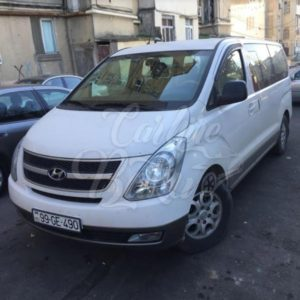 Hyundai H1 White | Rent Car Baku, Car Hire Baku