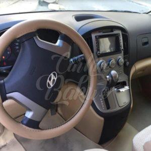 Hyundai H1 белый | Прокат микроавтобусов в Баку, Азербайджане