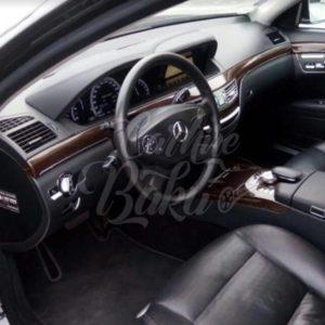 Mercedes S-class W221   VIP class renal cars in Baku, Azerbaijan