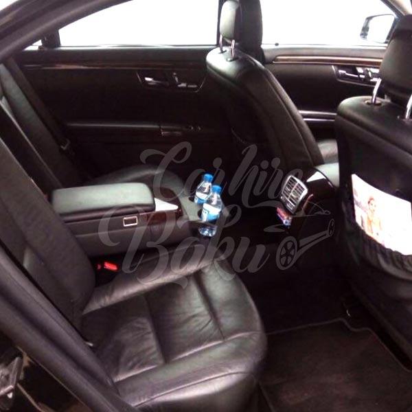 Mercedes S-class W221 | VIP class renal cars in Baku, Azerbaijan