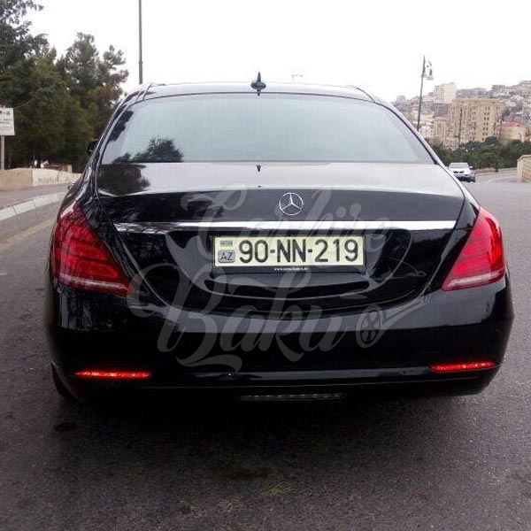 Mercedes Benz S Class W222 | VIP Class Rental Cars In Baku, Azerbaijan