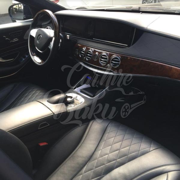 Mercedes Benz S-class w222 | VIP class rental cars in Baku, Azerbaijan