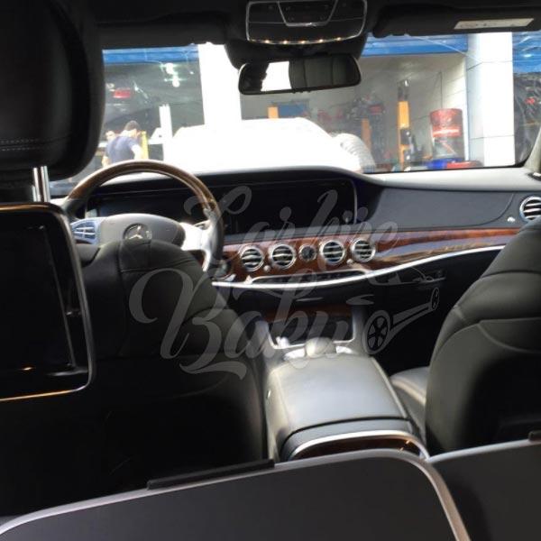 Mercedes Benz S-class w222 | VİP klass maşınların icarəsi