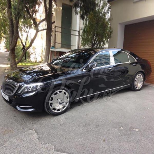 Mercedes Benz S-class w222 | VIP class аренда авто в Баку