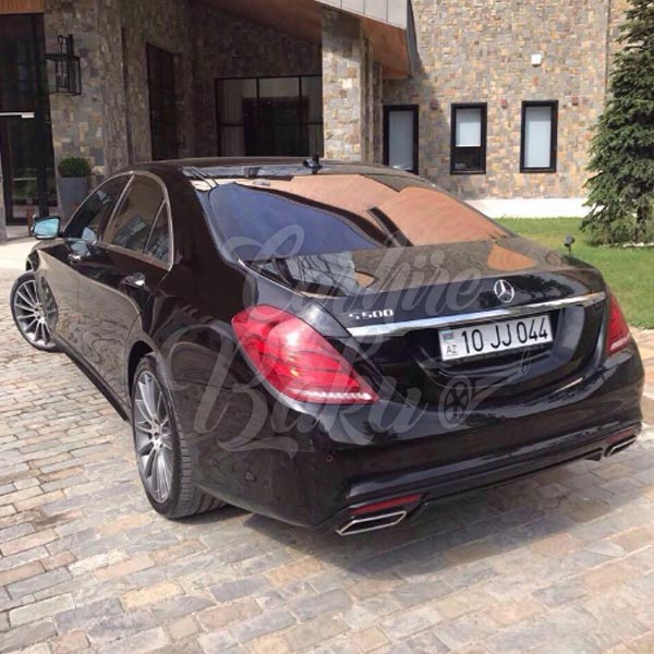 Mercedes Benz S-class w222 | VIP class rent a car Baku, Azerbaijan