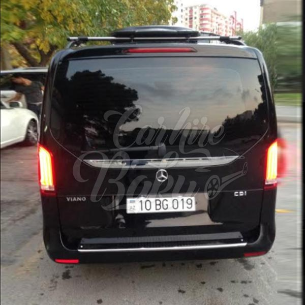 Mercedes V-class | Minibus for rent in Baku, Azerbaijan