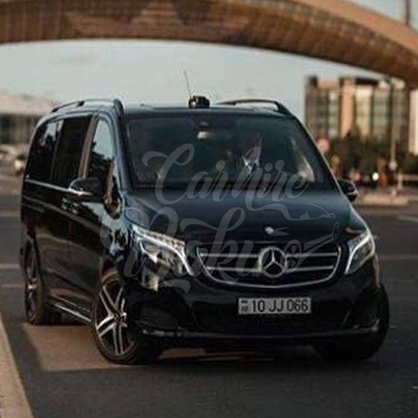 Mercedes V-class | Rent a car and minibuses in Baku, Azerbaijan