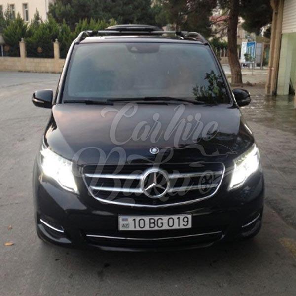 Mercedes V-class | Прокат авто и автобусов в Баку, Азербайджане
