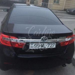 Toyota Camry | Busines Class Rental Cars In Baku, Azerbaijan
